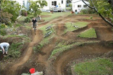 backyard bmx track design show your pump track thread ridemonkey forums
