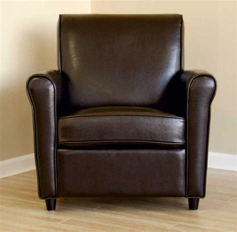 leather club chair by wholesale interiors