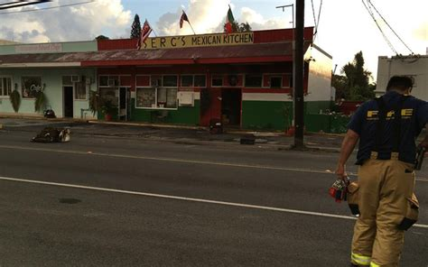 Serg S Mexican Kitchen by At Waimanalo Restaurant Causes 60 000 In Damage