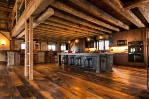 Barn Floor antique historic plank flooring barn loft rustic kitchen other