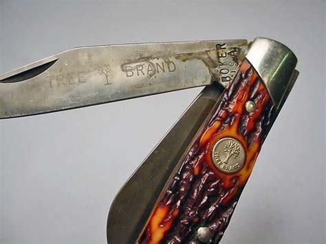 boker tree brand pocket knives vintage boker pocket knife no 98 85 tree brand
