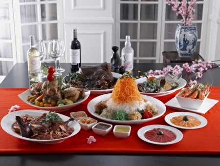 halal new year reunion dinner চ ইন জ নববর ষ র স জ স ঙ গ প র ছ গ বর ষ শফ কইসল ম এর