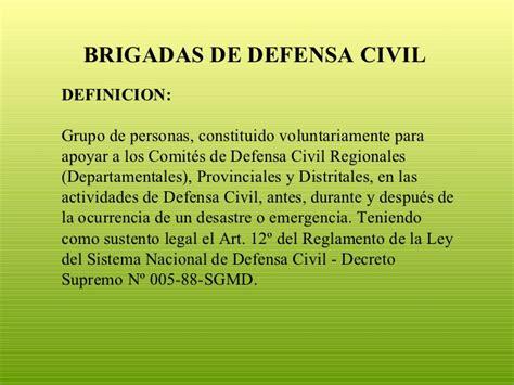 libro en defensa de las brigadas de defensa civil