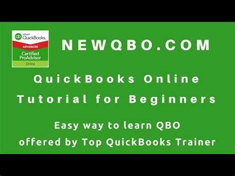 quickbooks tutorial for beginners quickbooks online 2017 tutorial for beginners by certified