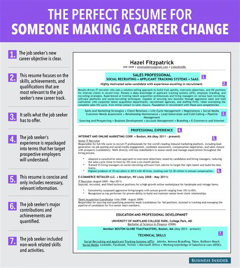 how to write a resume when changing careers resume format resume for change