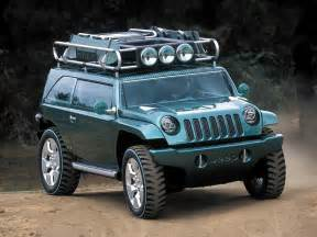 Willys Jeep Concept 2001 Jeep Willys 2 Concepts