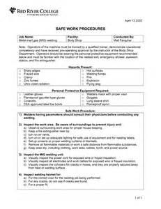 Work Procedures Template by Sales Manual Template Bestsellerbookdb