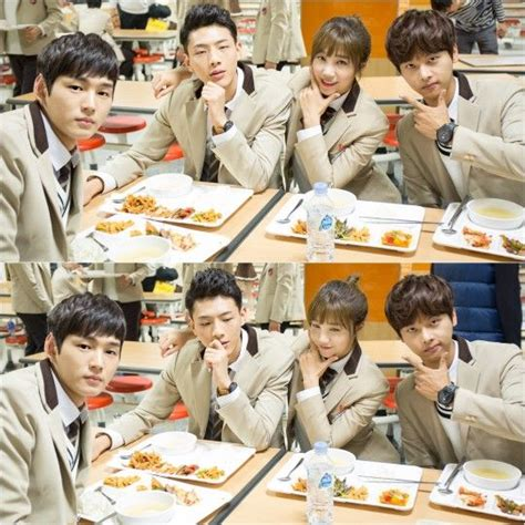 film drama korea cheer up the cast of cheer up pals around in behind the scenes