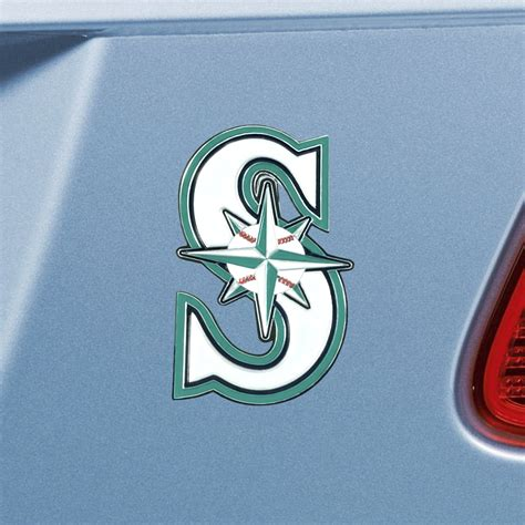 seattle mariners colors fanmats mlb seattle mariners emblem color