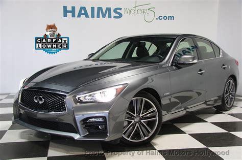 infiniti ta fl 2015 used infiniti q50 4dr sedan hybrid sport rwd at haims