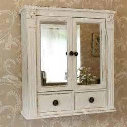 shabby chic bathroom cabinet with mirror distressed wall mounted bathroom cabinet tsc