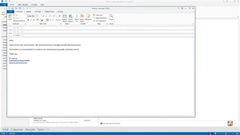 create a template in outlook outlook 2013 how to create an email template
