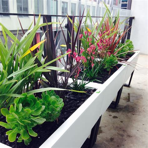 Planters For Balconies by The Ideal Patio And Balcony Planters The Ideal