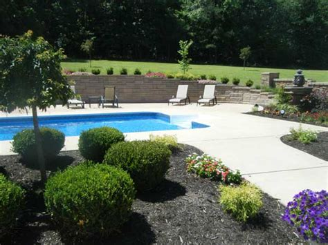 Creating Privacy In Backyard Retaining Wall Solves Backyard Flooding