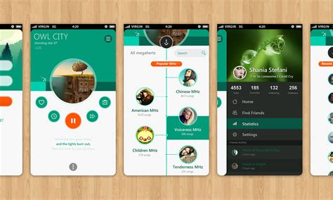 design pattern user interface 经典案例分享 20个创新的用户界面设计 学步园