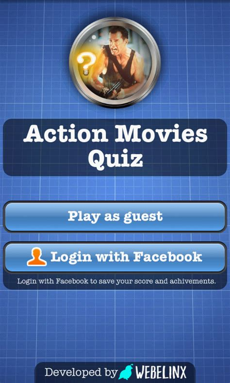 film quiz action action movies quiz free android app android freeware