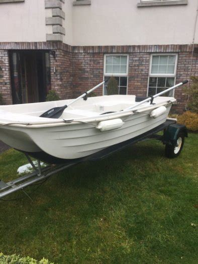 punt boat trailer watertender 94 punt small boat with trailer for sale in