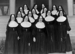 What did nuns wear nashville dominicans today note how young they are