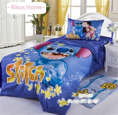 lilo and stitch comforter new 2013 disney lilo stitch bedding set 3pc twins single