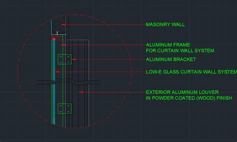 curtain wall detail dwg wall detail plus curtain wall detail cad files dwg