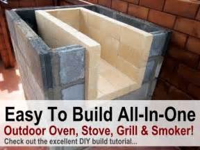 Best Backyard Smoker Pits Amazing Diy All In One Outdoor Oven Stove Grill Amp Smoker