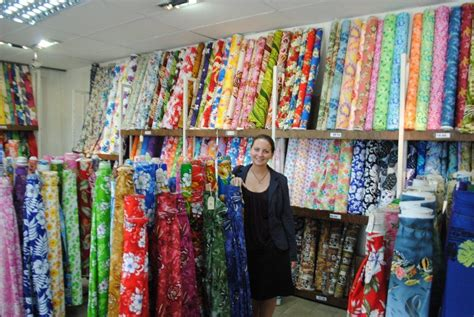 drapery shops and where she stops shopping in fiji