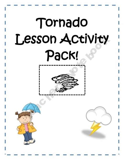 worksheets on tornadoes tornado lesson activity pack home school ideas fujita scale weather unit and