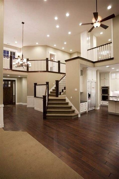 Open Space House by Amazing Stairs And Open Space Home Designs Plans Pinterest
