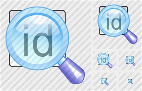 Search By Id Search Id Icon Xp Artistic Professional Stock Icon And Free Sets Awicons