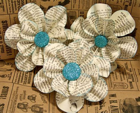 Paper Craft Flower Ideas - vintage paper flower ideas wedding ideas wedding trends