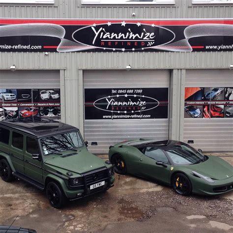 mercedes g wagon green matte military green g wagon and ferrari 458