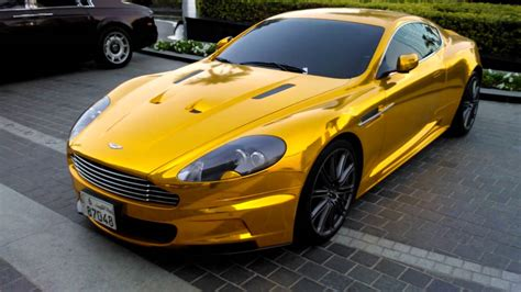 gold aston martin the with the golden dbs aston martin
