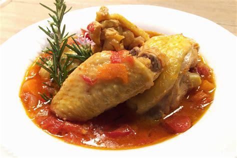 cucina pollo alla cacciatora pollo alla cacciatora la ricetta gustosa