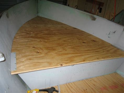 how to build aluminum boat floor installing wood floor in aluminum boat http