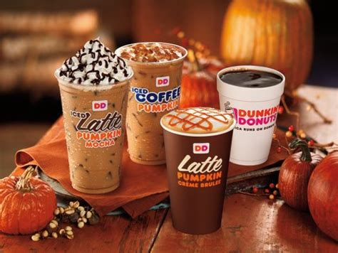 Dunkin Donuts Pumpkin Coffee by Dunkin Donuts Pumpkin Products 2014 Business Insider