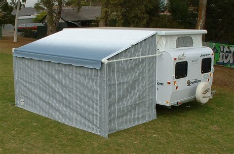 caravan awning walls roll out awning walls sar major canvas goods and trailers