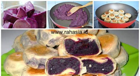 membuat bakpia ubi ungu gampang  praktis aneka