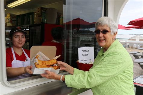 bay boats fish and chips catch of the bay fish chip boat open for 2017 masstown