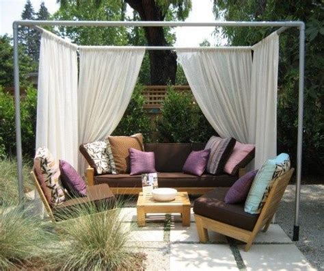 how to build a cabana step by step diy cabana summer diy and crafts and fabrics
