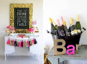 Classy Bachelorette Party Decorations 20 Ideas For Your 30th Birthday Party Brit Co