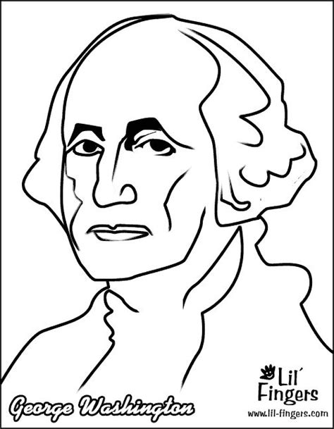 george washington coloring pages classroom pinterest