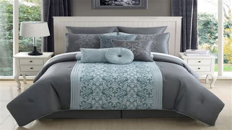 gray king size comforter teal paint color ideas