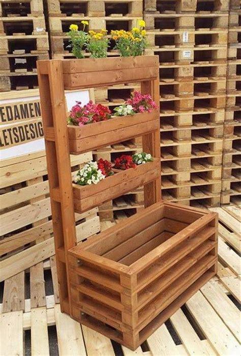 decoracion con palets de madera jardines verticales hechos con palets de madera