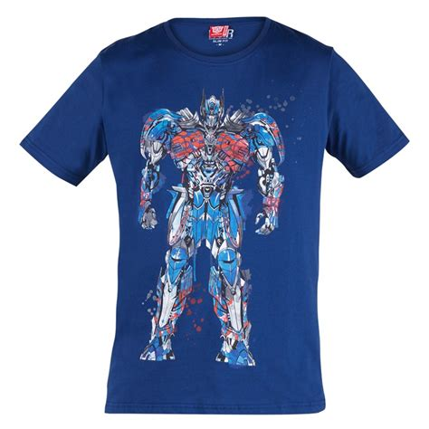 Kaos Aero Original Pakaian Atasan Anak T Shirt Branded Sisa Export transformers optimus prime t shirt blue
