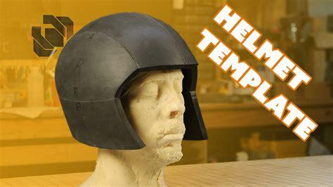 Basic Eva Foam Costume Helmet Template Tutorial Youtube Foam Helmet Template