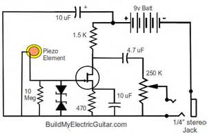 piezo pre schematic get free image about wiring diagram