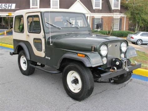 1982 Jeep Cj5 Purchase Used 1982 Jeep Cj5 28k Orig 1 Owner
