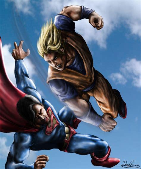 imagenes goku vs superman 191 a quien se comio goku taringa
