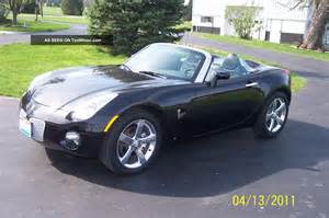 How Much Is A Pontiac Solstice Convertible 2006 Pontiac Solstice 2 Door Convertible