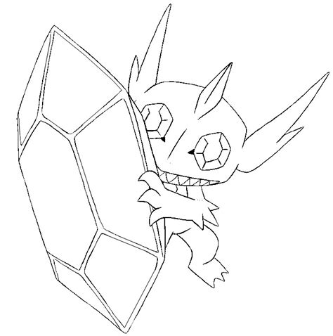 pokemon coloring pages heracross coloriage pokemon mega evolues mega tenefix 302 302